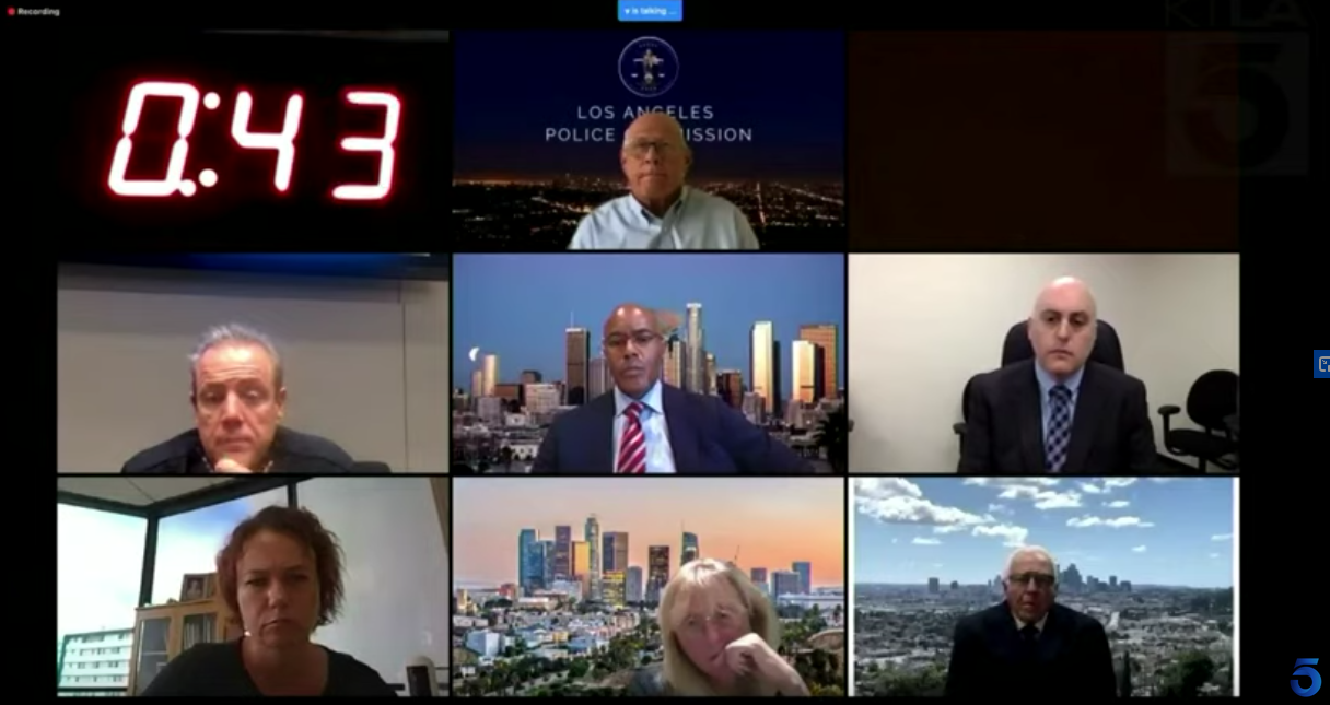 Los Angeles Police Commission meets in wake of regional unrest